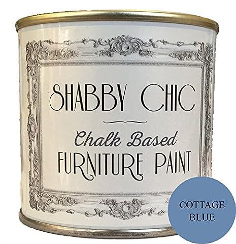 Cottage base de peinture Craie bleu pour créer un style
