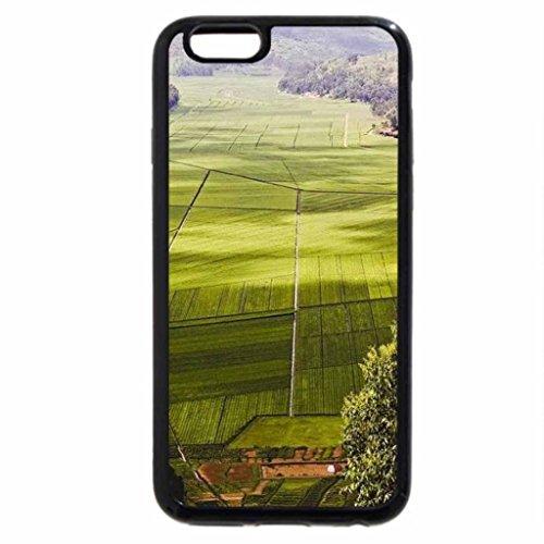 iPhone 6S / iPhone 6 Case (Black) Tea Plantation, Rwanda