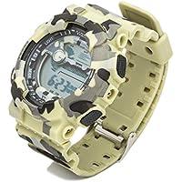 Digital Sport Armbanduhr für Männer und Frauen, LED-Bildschirm groß, Militär Uhren und phosphoreszierende Stoppuhr Alarm einfach Armee