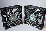 (zwei Verpackungs) Lüfter lange Lebensdauer Dual-Kugellager-Fan für PC, Computer-Gehäuse, CPU-Kühler und Radiatoren, TV-BOX (PWM 4-PIN(12V), 92X92X25(mm))