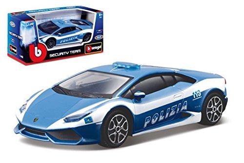 Bburago 18-30309 - Modellino Die Cast Lamborghini Huracan Polizia