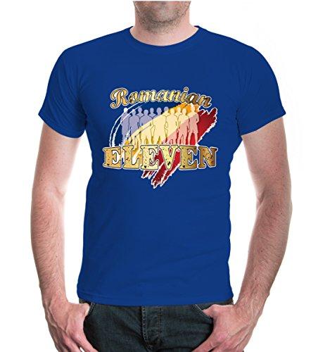 buXsbaum® T-Shirt Romanian Eleven Royal-z-direct