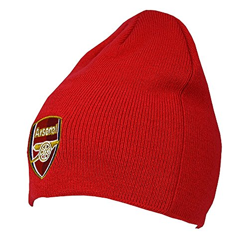 Arsenal FC - Bonnet officiel - Homme (Taille unique) (Rouge)