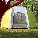 Finether Zelt Angelzelt Fishing Tent Karpfenzelt Karpfenangeln Kuppelzelt Campingzelt Portable Wasserdicht für Outdoor Camping Fishing Hunting 240 * 130 * 130cm, grün