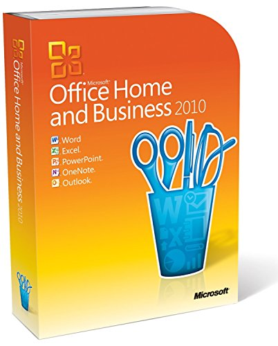 Microsoft Office Home and Business 2010 DVD (2010 Outlook Key)