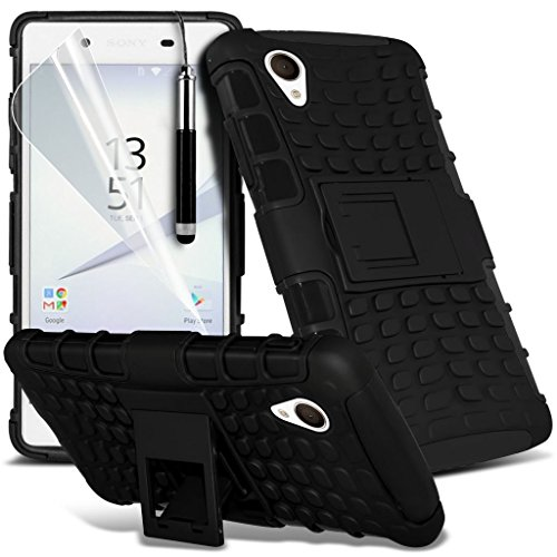 Case for <b>      Sony Xperia Z5 Premium / Sony Xperia Z5 Premium Dual    </b>     Case Universal Car Phone Holder Mount Cradle Dashboard & Windshield for iPhone y i -Tronixs Shock proof + Pen (Black)