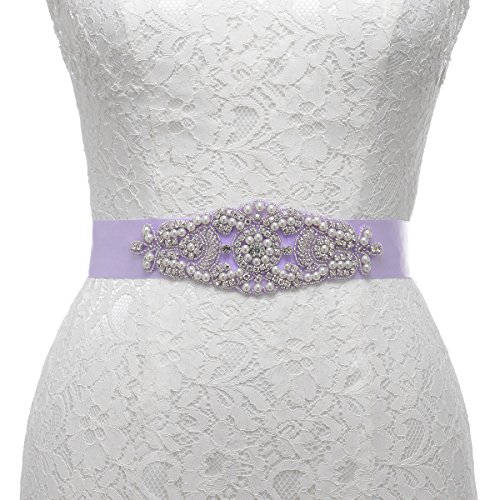remedios-pearl-and-rhinestone-accented-satin-sash-for-women-flower-gifts-nice-giftslilac