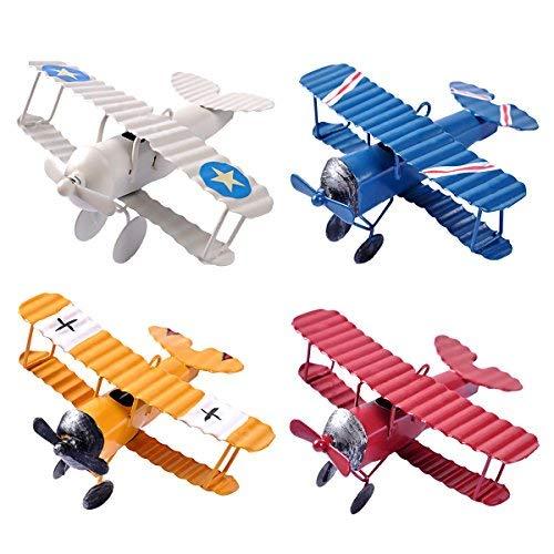 Mini Avionetas Decorativas Vintage DIY de eZAKKA