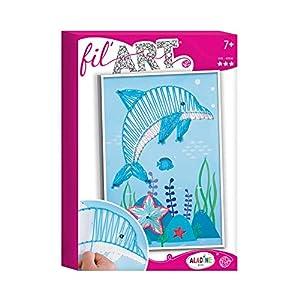 Unbekannt aladine 47201-Juego para Hilos de delfín