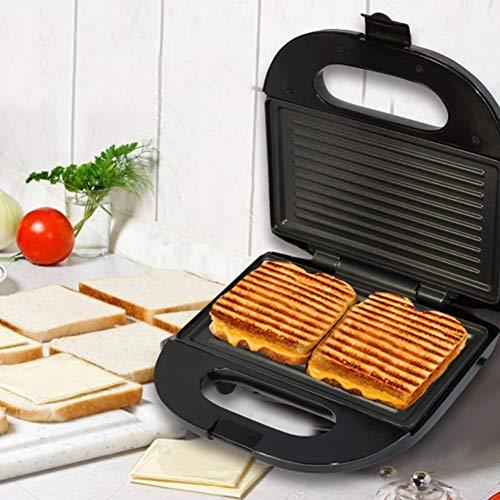 0Miaxudh SOKANY Electric Sandwichmaker, Non-stick Grillplatte Toaster, Frühstück Waffel Brotmaschine