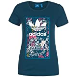 Adidas Tongue Label Slim T-Shirt Damen 36 - S
