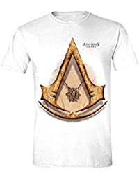 Assassin's Creed - Gold Icon Homme T-Shirt - Blanc