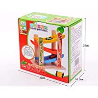 Children's track glider car, early education puzzle children's wooden toys, children over the age of three use