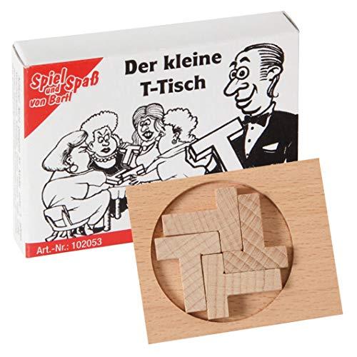 lz-Puzzle Der kleine T-Tisch aus 5 kleinen Holzteilen ()