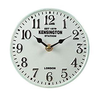 Ambiente Haus Table Clock Metal Cream Nostalgia Vintage Watch Ø 15cm Antikuhr Shabby