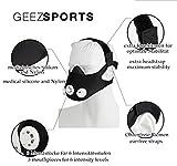 GEEZ 3-Modul-System Basic Trainingsmaske für professionelles Höhentraining - steigerung der körperlichen Fitness Atemmaske Trainings Maske training Mask - 2