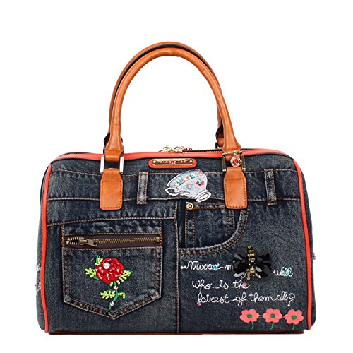 nicole-lee-riley-denim-emboidery-boston-bag