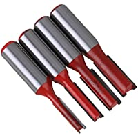 cnbtr 1/2inch Shank Dia argento e rosso carburo lavorazione del