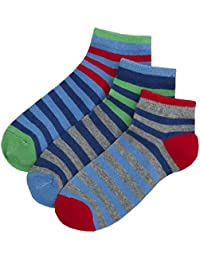 Zest Boys Cotton Rich Trainer Liner Socks