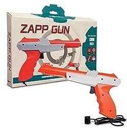 Tomee : Zapper Pistole Für Die Nintendo Nes Spielkonsole (Laser, Gun, Duck Hunt, Gumshoe...)