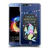 Head Case Designs Meerjungfrau Magische Weihnachten Ruckseite Hülle für Huawei Honor 8 Pro