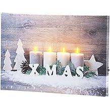 Weihnachtsbilder Mit Licht.Weihnachtsbilder Mit Led Beleuchtung Suchergebnis Auf Amazon De Für