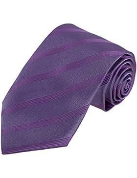 DAA7A01-03 Multicolored rayas corbata tejida de microfibra Con caja de regalo Por Dan Smith