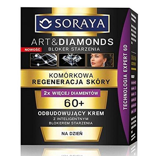 Art & Diamonds 60+ Cellular Regeneration Creme Rekonstruktiv für den Tag 50ml von Soraya