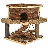 Croci Maison Tania en Bois pour Petits Animaux 19x20x19 cm