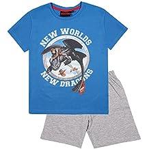 27daff5ee4 Dragones Chicos Pijama mangas cortas - Azul