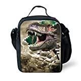 Best Thermos Lunch Boxes For Boys - Fashion Lunch Tote Box With Shoulder Strap Reusable Review