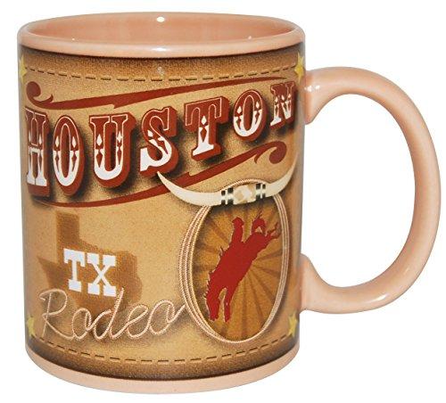 CityDreamShop Houston Texas Rodeo Motto 11Unze Kaffee Tasse