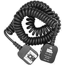 Pixel FC-3113,6m cable TTL ETTL para Canon Nikon Sony DSLR