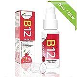Vitamine B12 Spray 25ml | 125 Sprays - Approvisionnement de 4 mois | 250 mcg par pulvérisation, B12 méthylcobalamine | Saveur de cerise | Sans Gélatine | VEGAN par Vegavero | 1 Boite
