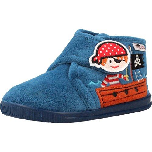 varios colores f04b8 e0fc9 Zapatillas niños de Estar por casa, Color Azul (ELECTRICO), Marca VULLADI,  Modelo Zapatillas Niños De Estar por Casa VULLADI 4111 140 Azul