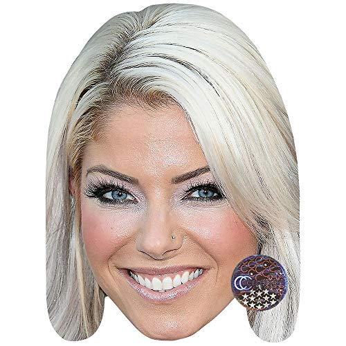 Celebrity Cutouts Alexa Bliss Maske aus Karton - Bliss Maske