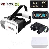 ONOGAL Gafas 3D de Realidad Virtual HD VR Box 2.0 Version Pro + Mando por Bluetooth Joystick Controlador 4315