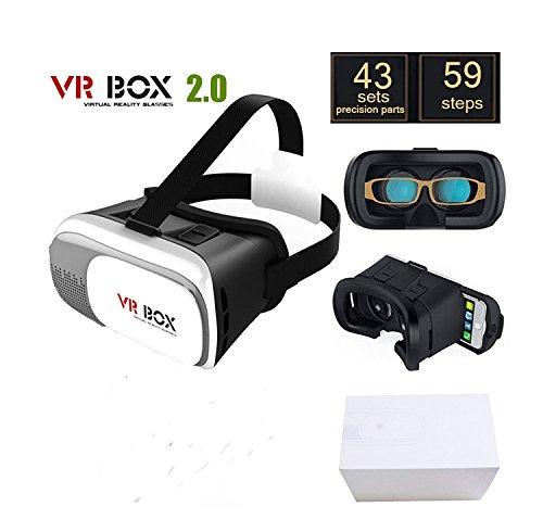 ONOGAL Gafas 3D Realidad Virtual HD VR Box 2.0 Version