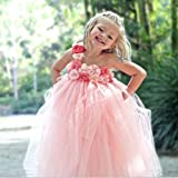 Darlee & Dache Kid's Tulle Net Pink Colo...
