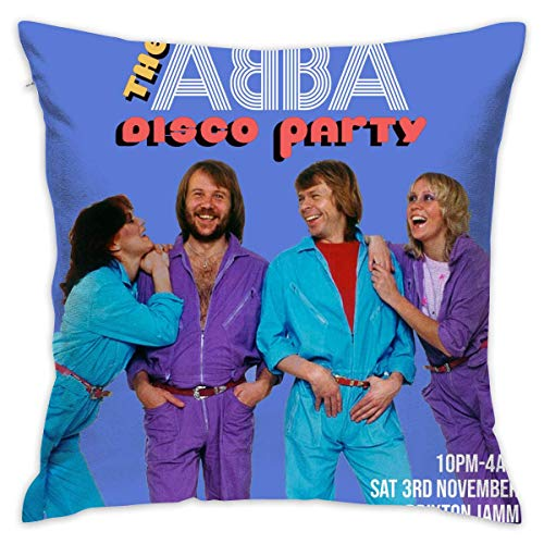 ABBA Disco Party Pillow Cover.