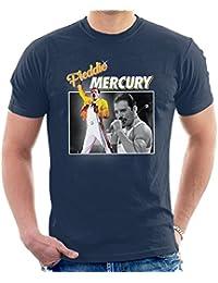 Freddie Mercury Queen Tribute Montage Men's T-Shirt