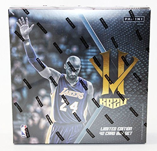 Limited Edition Panini Kobe Bryant Anthology Hero Villain 42 Card Set (Bryant Set)