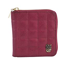 CHUMBAK Maroon Womens Wallet