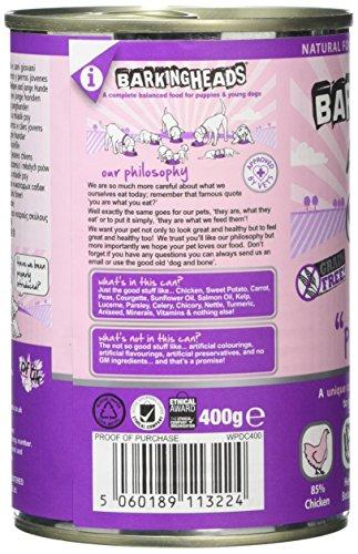 Barking Heads Wet Fat Dog Slim Dog Food Tins, Pack of 6 5