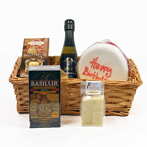 Hay Hampers Birthday Cake & Candles Celebration Hamper Box