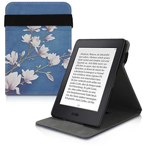 kwmobile Amazon Kindle Paperwhite Hülle - Schlaufe Ständer - e-Reader Schutzhülle für Amazon Kindle Paperwhite (für Modelle bis 2017) (Kindle Touch 7. Abdeckung)