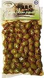 griechische würzige grüne Oliven mit Stein vakuumverpackt 250 g