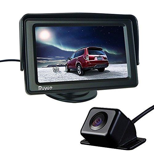 Buyee® 170 ° breiten Blickwinkel Rückfahrkamera Rückfahrsystem KFZ+4.3 Zoll TFT LCD Monitor