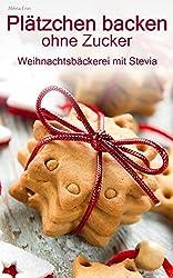 Plätzchen backen ohne Zucker: Weihnachtsbäckerei zuckerfrei ( mit Stevia )