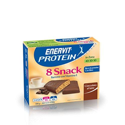 Enervit Protein Snack Cioccolato Al Latte 8 Barrette